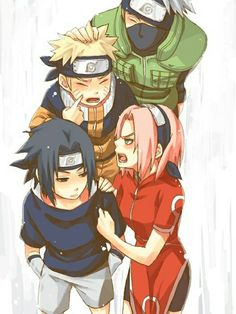 Team Kakashi - the one and only Team 7 :D