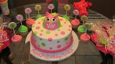 Perfect little girls cake