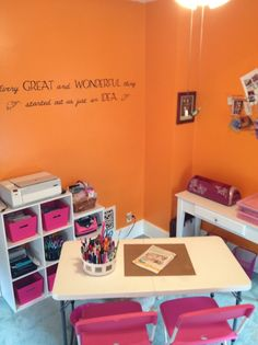 more quotes and scrapbook room storage
