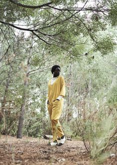 Yellow Jumpsuit, Bow Slides, Shine Your Light, Gift Of Time, New Earth, Made Clothing, Together We Can, Sustainable Design, Summer Collection