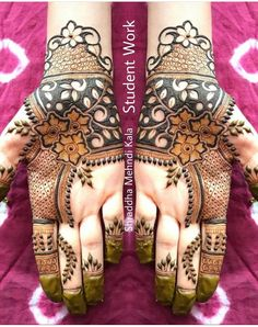 Explore Best Mehendi Designs and share with your friends. It's simple Mehendi Designs which can be easy to use. Find more Mehndi Designs , Simple Mehendi Designs, Pakistani Mehendi Designs, Arabic Mehendi Designs here. Floral Henna Designs, Latest Bridal Mehndi Designs, Henna Art Designs, Modern Mehndi Designs, Mehndi Designs For Girls, Mehndi Design Photos, Wedding Mehndi Designs, Mehndi Designs For Fingers, Dulhan Mehndi Designs