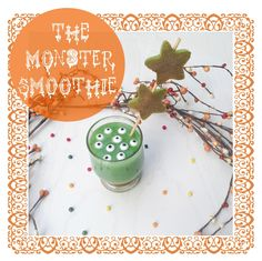 The Monster Smoothie ! Perfect Halloween Recipe @Clementine Berlioz