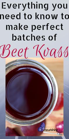 This post will teach you exactly how to make beet kvass at home with all the best tips and tricks for a successful ferment. It also covers all the benefits of beet kvass and frequently asked questions that people have about their ferment. You can make your own delicious beet kvass without using whey and without getting mold or kahm yeast on top! #ferment #nourishingtime #guthealth #beetkvass #lactoferment #beetrecipe #gapsdiet #paleo #healthfood #liverhealth #kidneyhealth #sibo #ibs #crohns Probiotic Foods, Fermented Foods, Detox Drinks, Healthy Drinks, How To Make Beets, Beet Kvass, Beet Recipes, Gaps Diet, Crohns