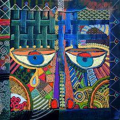 Rachel Eshet Eye Canvas