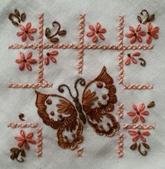 Vintage Embroidery Lace Trim by 1 Yard, White, - Embroidery Design Guide Embroidery Flowers Pattern, Butterfly Embroidery, Hand Embroidery Stitches, Modern Embroidery, Hand Embroidery Designs, Vintage Embroidery, Embroidery Techniques, Ribbon Embroidery, Cross Stitch Embroidery