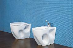 Come scegliere i sanitari - coppia di sanitari a terra filo parete Ceramica Flaminia collezione Void