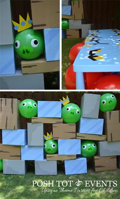 ideas carnival games for kids party schools angry birds Carnival Games For Kids, Kids Party Games, Fun Activities For Kids, Bird Birthday Parties, Birthday Fun, Birthday Celebration, Cumpleaños Angry Birds, Maila, Party Themes
