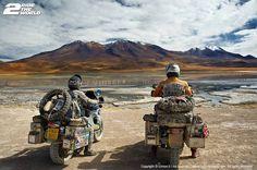97965abbf2c Simon e Lisa Thomas - uma viagem de 14 anos em motos