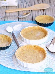 Coconut Flour Pie Crust {how to make pie crust with coconut flour?} :http://www.sweetashoney.co/coconut-flour-pie-crust-almond-meal/