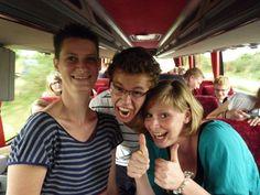 Gezelligheid in de bus!