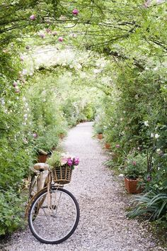 <3 Take a leisurely bike ride -- part of cottage living lifestyle.