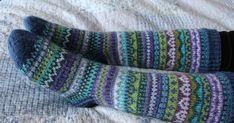 Woolen Socks, Knitting Socks, Knit Socks, Needlework, Knitwear, Diy And Crafts, Knit Crochet, Handmade, Ale