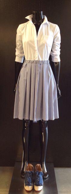 Dress by Christian Pellizzari and shoes by Chloe' at #ilduomonovara