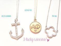 A-List Greek Designs Jewelry Giveaway!