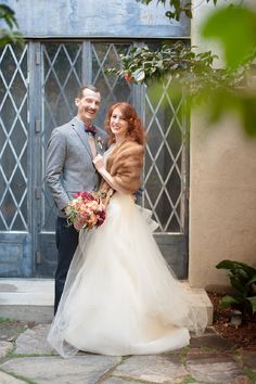 vintage bride and groom looks #vintage #brideandgroom #weddingchicks http://www.weddingchicks.com/2014/02/26/cozy-winter-wedding-ideas/