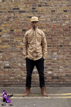 King Apparel shirt with Trikki chinos, styled my moi!