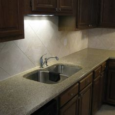 kitchen backsplash with 12x12 tile | so-cal tile & bath, corona ca