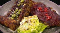 Klassiske BBQ-ribs og Asian Ribs | Mad