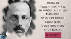 Rainer Maria Rilke Annunciazione