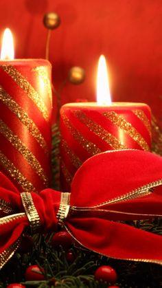 christmas candles | Christmas holiday candles