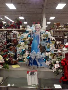 Another frozen wreath full length. Great seller at store design by Andi (9989) 2014