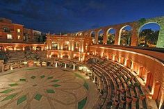 Quinta Real. A 17th century bullring converted into a hotel in Zacatecas, Mexico.