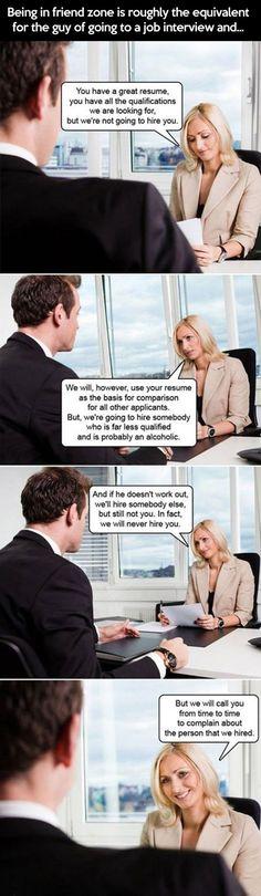 Friendzone explained professionally....