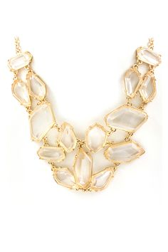 Gold Josephine Necklace, gorgeous!