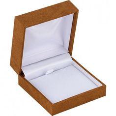 Tan Linden Collection Pendant Box...(ST61-9453:100003:T).! Price: $19.99 #pendantbox #jewelrybox