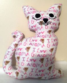 Kitty kat trio guild product pinterest stuffed grandma kitty easter gifts grandma by grammainabox negle Image collections