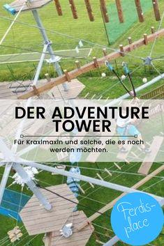 In St. Barbara im Mürztal befindet sich dieses tolle Ausflugsziel. Klettermaxln können hier in 12 Metern Höhe balancieren - für Einsteiger reichen wohl auch die drei Meter ;-) Ein tolles Ausflugsziel für alle, die größer als 100 Zentimeter sind. #Klettern #Ausflug #Steiermark