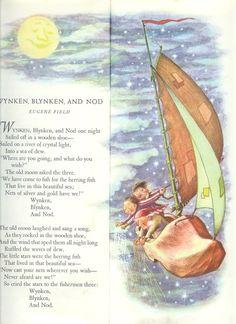 Wynken, Blynken and Nod - Eugene Field, illustrated by Garth Williams