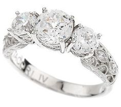 Emerald Cut Aberdeen Diamond Enement Ring Platinum Wedding 25th Anniversary