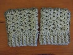 Women's Boot Cuffs Gray handmade in the USA Toppers Christmas Gift