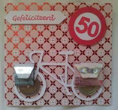 Verjaardag fietsfanaat 50 jaar