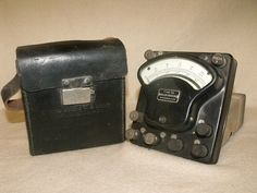 Voltammeter Signal Corps US Army  I50 by TroutsAntiques on Etsy, $12.00