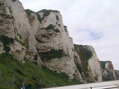 Klify, Le Treport, Francja