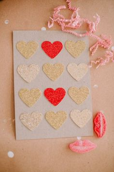 Host a card-making party with your friends to celebrate Valentine's Day!