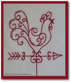 Free Pattern Day:  Chickens.  More patterns at:  http://quiltinspiration.blogspot.com