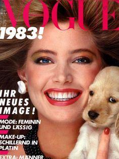 Kelly Emberg  -  Vogue Germany 1983