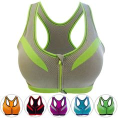 Sports Bras Women Push Up Wire Free Padded Anti-shock Sports Bra Cotton Solid Padded Push Up Wire Free Sport Bras Gym Fitness A7 Shrink-Proof Sports Clothing