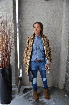 A pair of Gap jeans as featured on the blog Friends Are Fashion.
