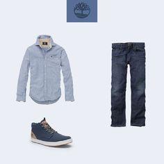 Combinação para aqueles que podem ir trabalhar com uma roupa mais casual. Que tal?