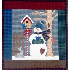 """""""Winter Neighbors..."""" By Just My Imagination , Applique 
