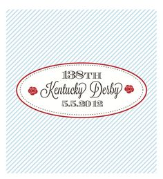 As we mentioned this morning, we are sharing FREE Kentucky Derby printables from Mirabelle Creations. All you need now is a little mint julep, a fantastic hat, and some good friends. Oh..and of course, some SWEETS! What do you do to celebrate The Kentucky Derby?  We would love to see your Kentucky Derby dessert tables! …