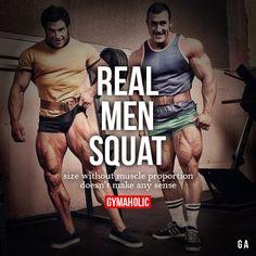 Real Men Squat