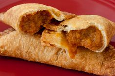 Guam's fried pumpkin turnover..OMG, so delicious when it is hot though it is especially delish the next day at room temp.......pumpkin, fill my mouth!