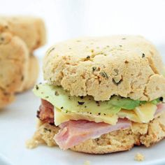 Cheesy Herb Biscuits (Low Carb and Gluten-Free)