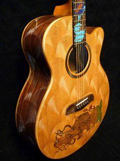 A Blueberry Guitar