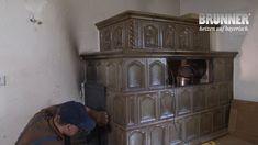 Kachelofen: Neue Technik im alten Gewand Wood Burner Stove, Herd, Bookcase, Shelves, Home Decor, Latest Technology, Diy Crafts Home, Shelving, Decoration Home
